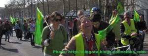manifestation nantaise contre le projet d'aéroport